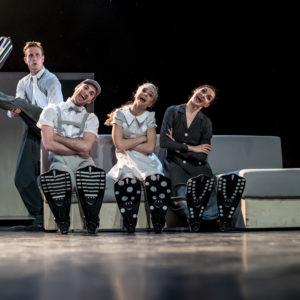 015 - SĘlo pro n†s dva - Marek Svobodn°k, Federico Ievoli, Anna Novotn†, Michaela Wenzelov† - Foto Martin Div°Áek